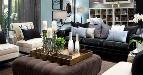 Black Leather Living Room Ideas by Living Room Decorating Ideas Black Leather Black