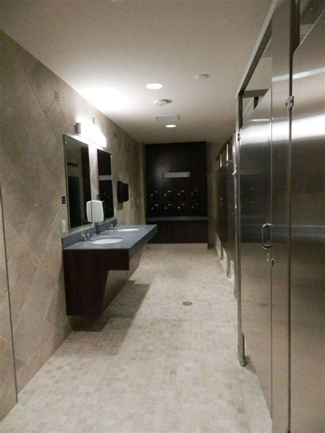 The Community Bathrooms In One Of The New Buildings Looks