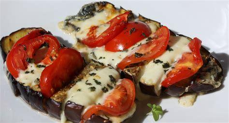 cuisiner les aubergines au four antipasti aubergine gratinée à la mozarella envie de