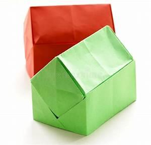 Origami Maison En Papier : maisons de papier d 39 origami color photo stock image du ~ Zukunftsfamilie.com Idées de Décoration