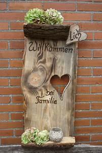 Türschilder Holz Familie : herzlich willkommen bei familie ein sehr gro es ~ Lizthompson.info Haus und Dekorationen