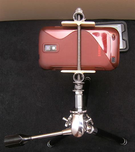 diy iphone tripod diy how to make your own smartphone tripod mount iphone