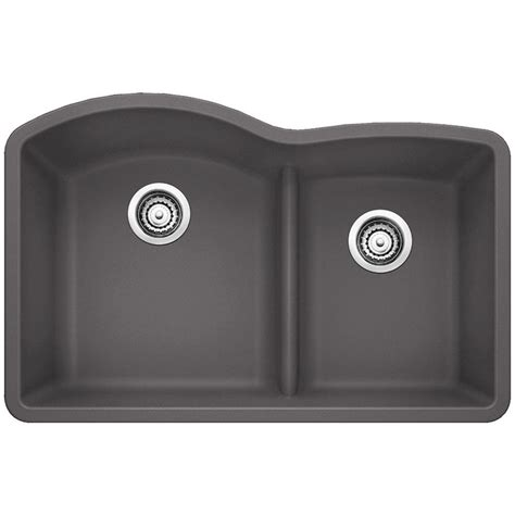 kitchen sinks blanco blanco undermount granite composite 32 in 0 2984