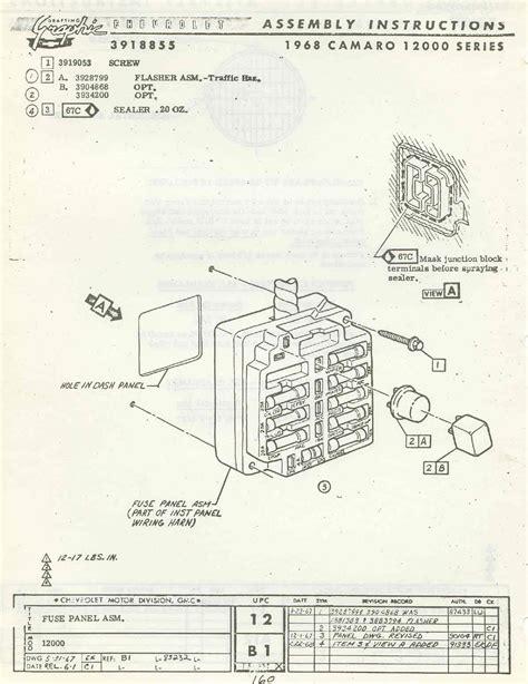 1987 Camaro Fuse Diagram by 1987 Firebird Fuse Box Diagram Wiring Library