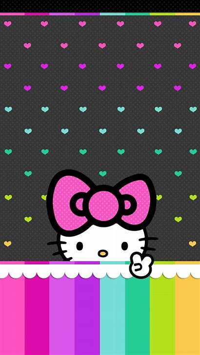 Kitty Hello Background Wallpapers Pink Iphone Backgrounds