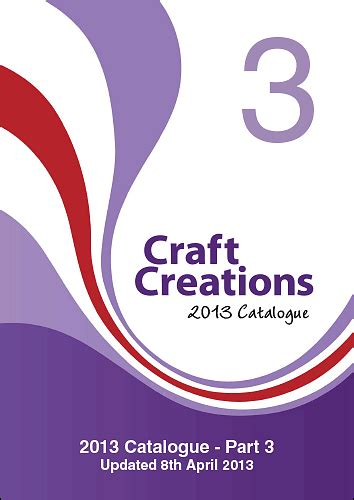 ccl products full form craft creations 2013 catalogue part 3 paper and cardboard