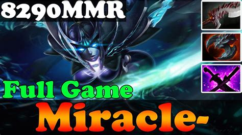 dota 2 patch 6 86 miracle 8290mmr plays phantom assassin ranked match