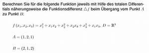 Differenzial Rechnung : mathe aufgaben analysis differenzialrechnung totales ~ Themetempest.com Abrechnung