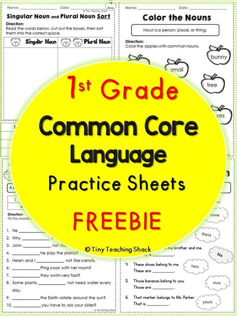 First Grade Math Assessments For Common Core Standards  End Of Year First Grade Math Assessment