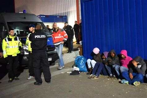 Refugee Crisis 2015 Asylum Seekers In Germany Fight Over
