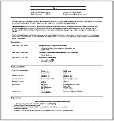 Definition Of Functional Resume by What Is The Best Definition Of A Functional Resume Answers