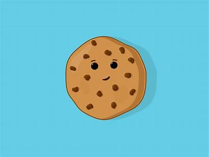 Cookie Chocolate Chip Animated Animation Dribbble Icon