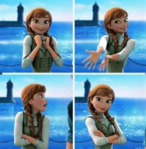 Growing Up Disney Princess Anna Frozen