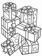 Coloring Gifts Stack Sheet Para Regalos Colorear Spiritual Sky Dibujos Sketch Theme Template Coloringsky Ribbon sketch template