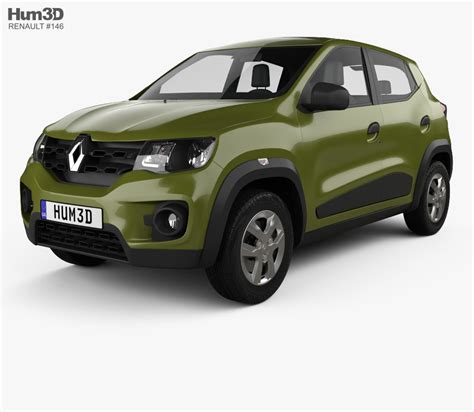 Renault Model by Renault Kwid 2016 3d Model Humster3d