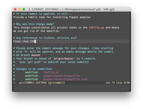 git commit template a useful template for commit messages darurats