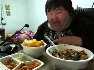 Funny Fat Korean Kid Really Love's His Food - YouTube