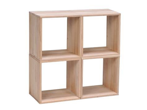 hauteur table bar pour cuisine etagère cube en hêtre massif personnalisable l36cm nolan