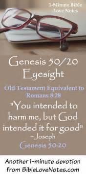 Genesis 50/20 Eyesight | Genesis 50 20, Bible love, Genesis