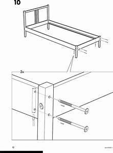 Ikea Fjellse Bed Frame Tw Instructions Manual 822426