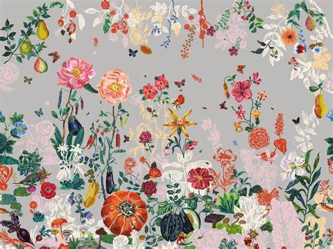 canapé fleuri style anglais tendance papier peint quoi de neuf pour 2017 2018