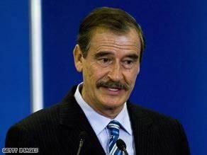 Former Mexican president calls for legalizing marijuana ...