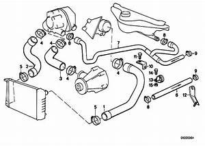 Original Parts For E34 524td M21 Sedan    Engine   Cooling