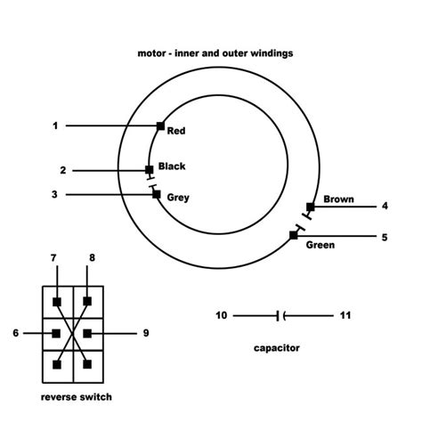 Electrical Wiring Multispeed Psc Motor From Ceiling Fan