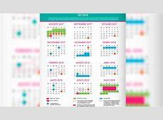 México SEP presenta calendario escolar 2018