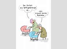 Cartoon Poster Rollator hoch EulenspiegelLaden, der