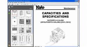 Yale Forklift Glp  Gdp3 5 Mj  Gp  Glp  Gdp70 Mj