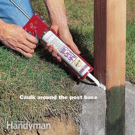 l posts for sale how to set fence posts that won 39 t rot the family handyman