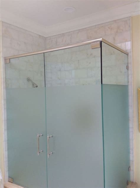 frosted shower glass images  pinterest