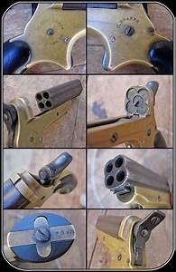 Z Sold Pepperbox Pistol Sharps 4 Shot