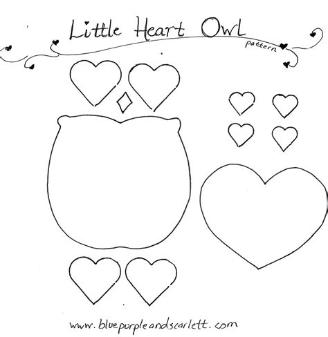 Owl Template Printable Owl Pattern Coloring Home