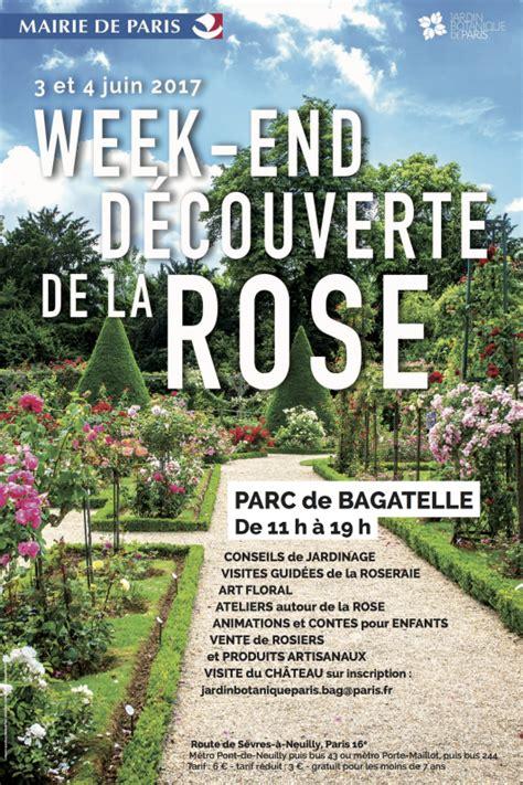 Weekend De La Rose Au Parc De Bagatelle  Jardins De