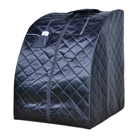 aleko personal folding portable home 1 person carbon far