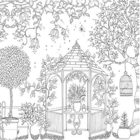secret garden coloring book secret garden an inky treasure hunt and colouring book