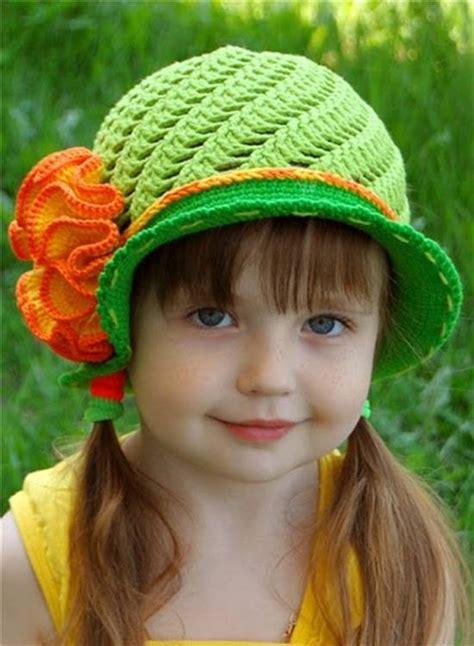 creative diy adorable crochet flower hats   girls