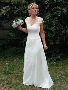 Robe Style Boheme : robe mariee boheme dentelle ~ Dallasstarsshop.com Idées de Décoration
