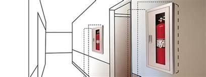 Kidde Semi Recessed Fire Extinguisher Cabinets by Fire Extinguisher Cabinet Mounting Height Scifihits Com
