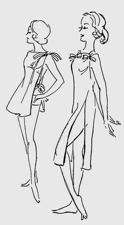 Toga Sleep Practicalglamour Early Flashback Glamour 1960