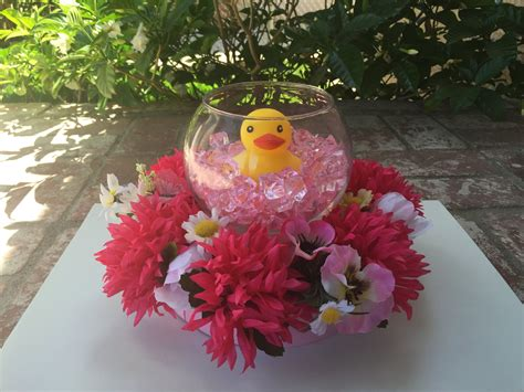 Duck Floral Centerpiece (baby Shower) Bathroom Light With Shaver Socket Lighting A Match In The Uk Modern Sinks And Vanities Mirror Led Lights Pictures For Kids Costco Fixtures Vent Combo