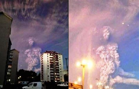 sedute spiritiche testimonianze vulcano calbuco figura umanoide appare nella nube di