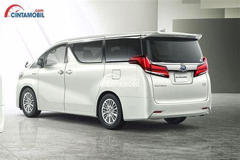 Review Toyota Alphard by Review Toyota Alphard 2018 Facelift Varian Teranyar Dari