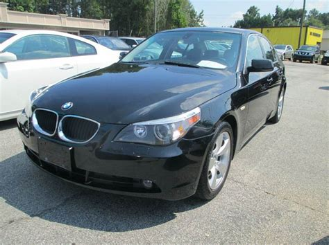 2006 Bmw 5 Series 530i 4dr Sedan  Snellville Ga