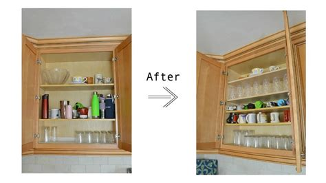 add shelves  existing kitchen cabinets  organize   shelves youtube