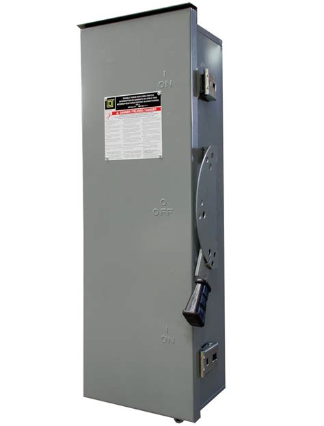 100 square d manual transfer switch 1 phase 240v nema 3r