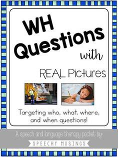 special ed wh questions images wh questions