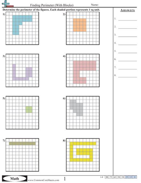 Area & Perimeter Worksheets  Teaching  Pinterest  Perimeter Worksheets, Worksheets And Math